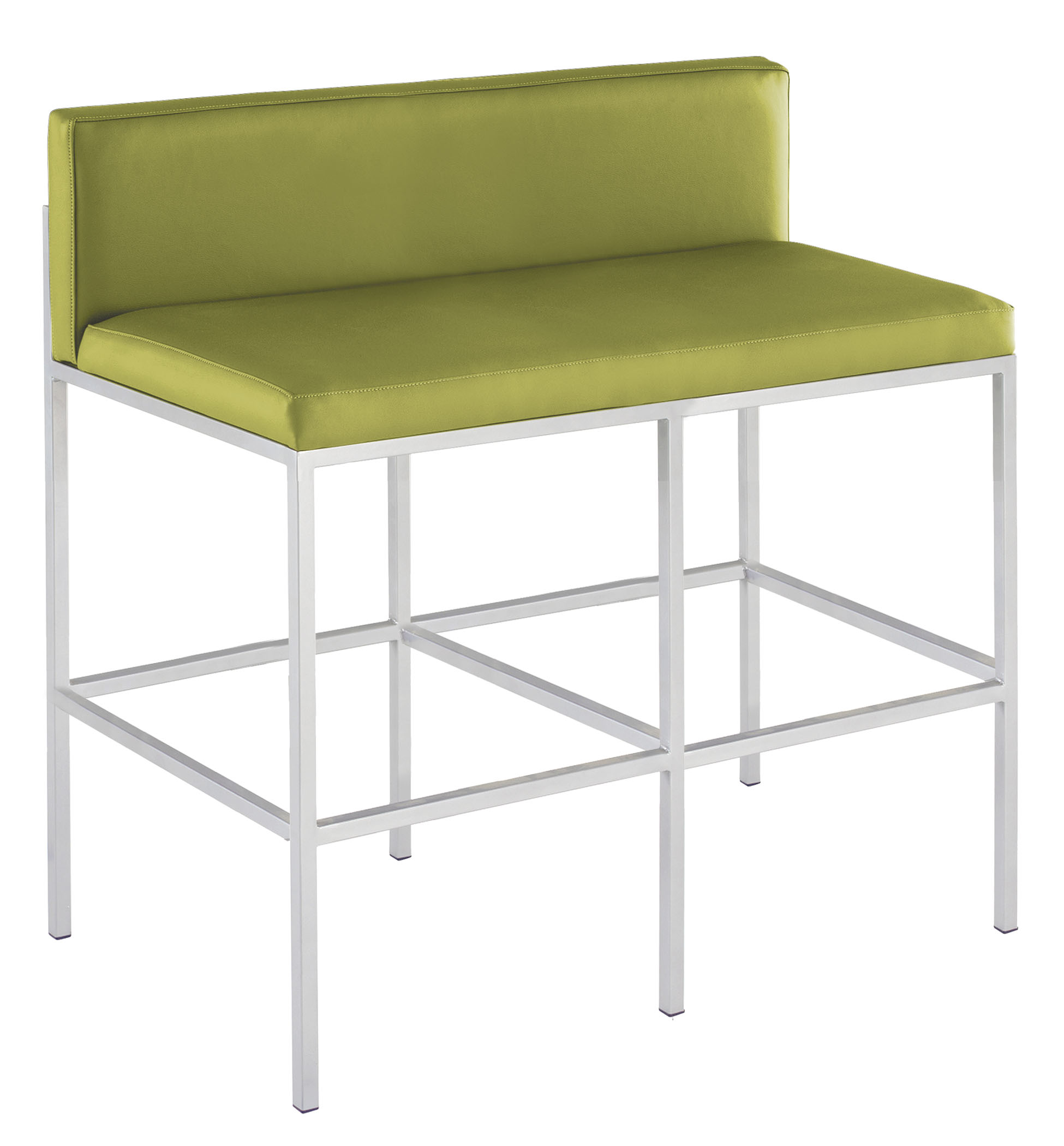 9664 Metal Bench Counter Ht