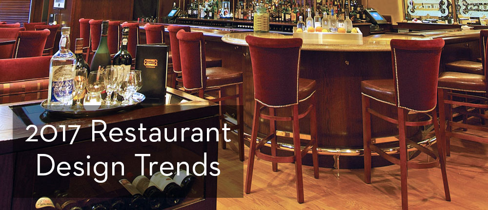 Restaurant design trends take on classic refined looks