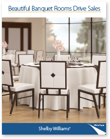 Beautiful Banquet Rooms Drive Sales