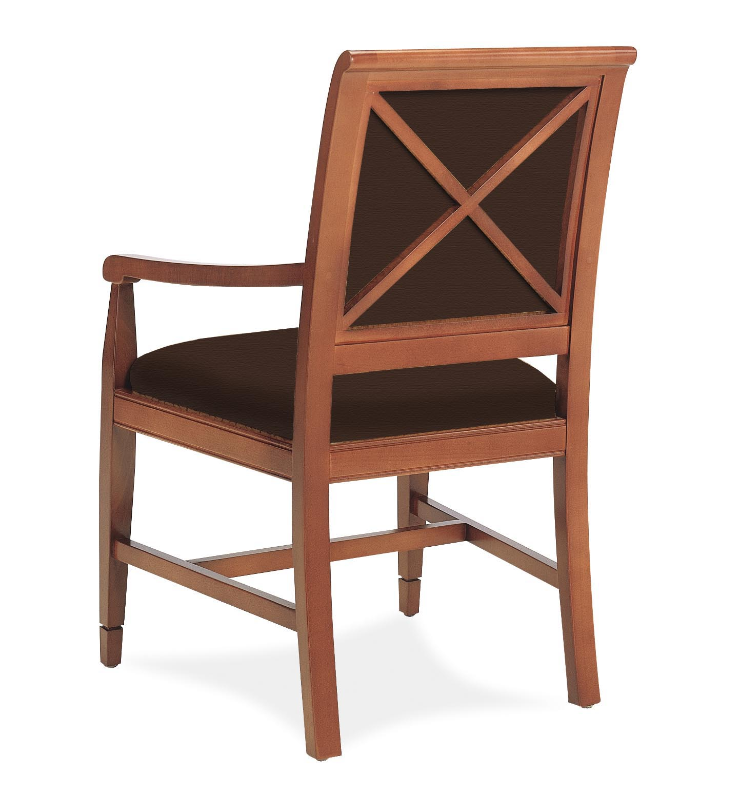 4007-AFB Wood Arm Chair