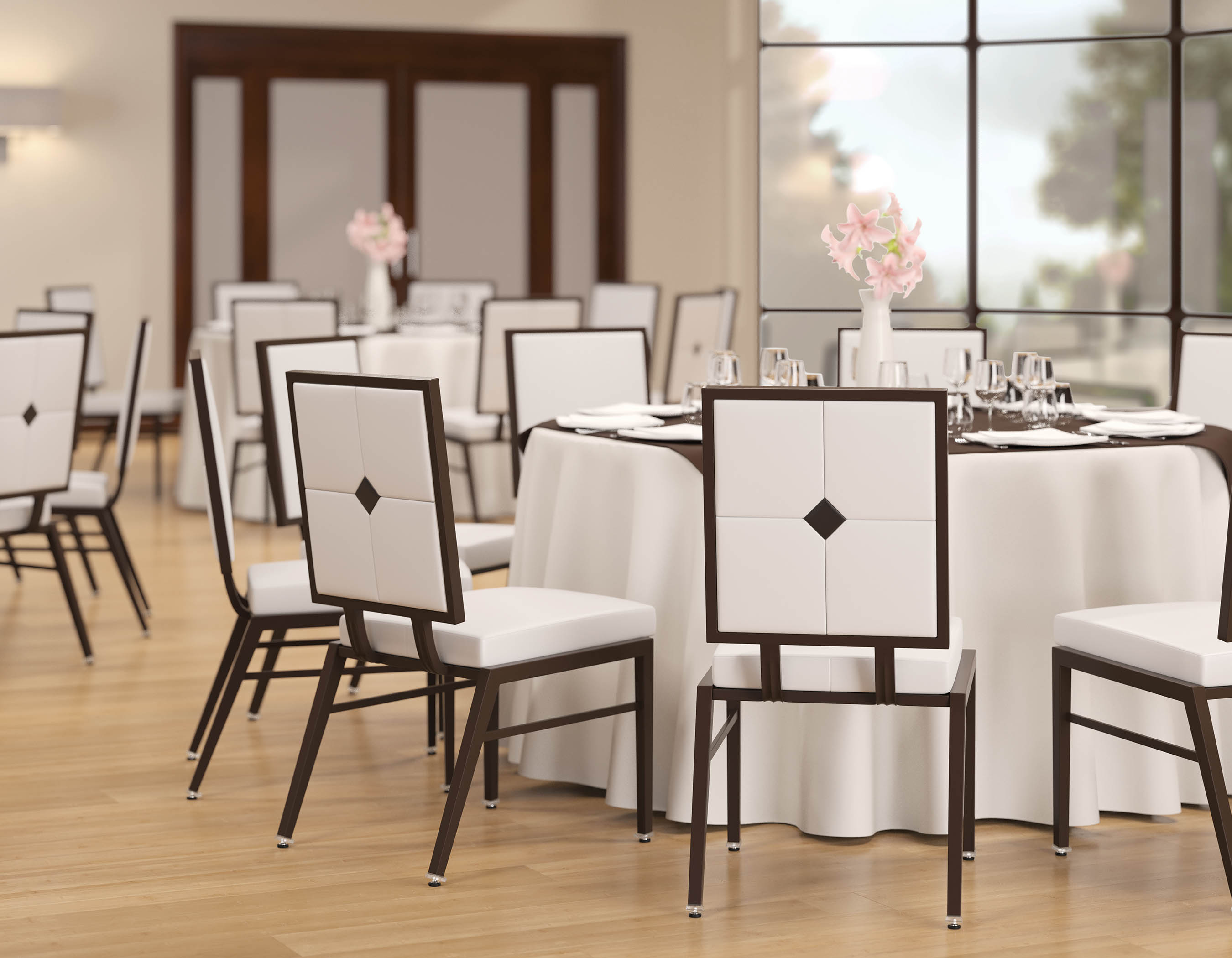 8215 aluminum banquet chair. Black Bedroom Furniture Sets. Home Design Ideas