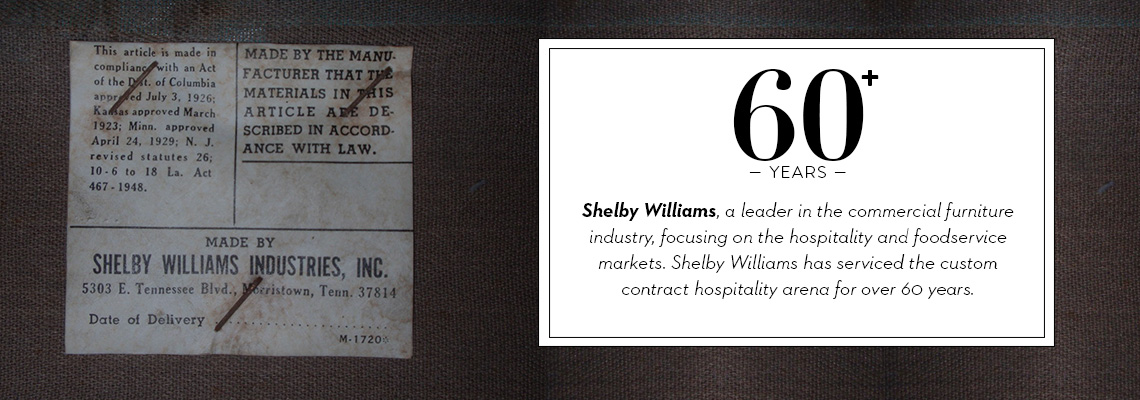 About Shelby Williams Company