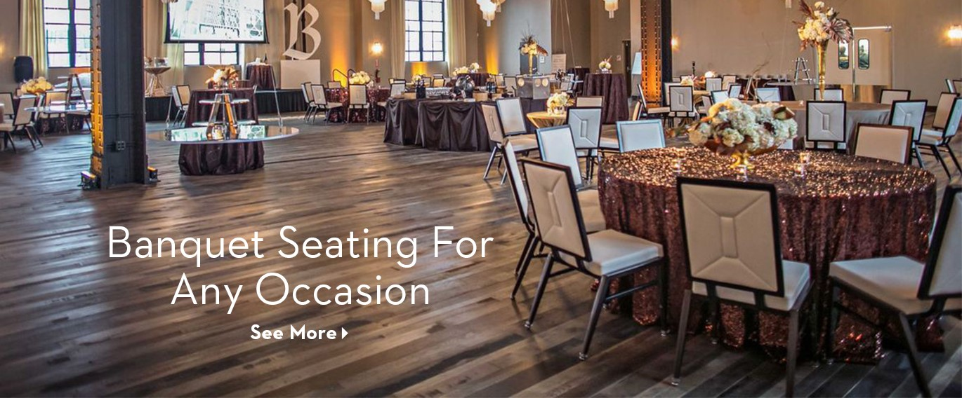 Banquest Seating for Any Occasion