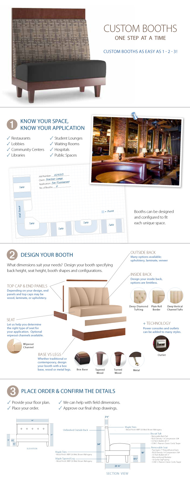 Custom Booth Infographic