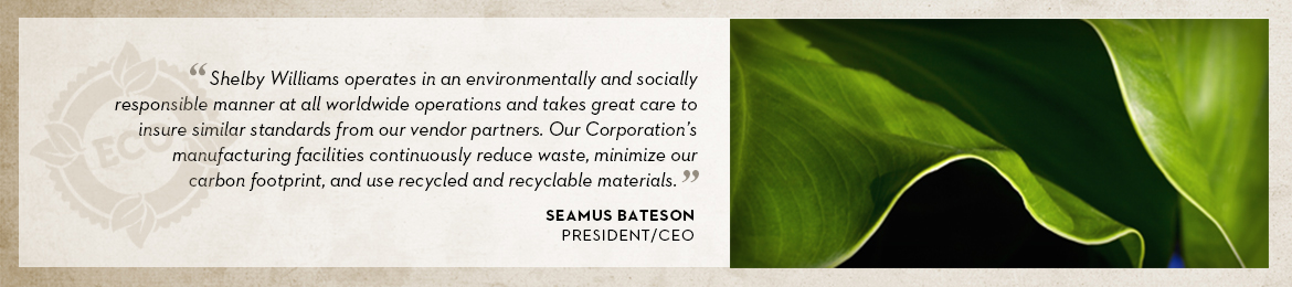 Seamus Bateson on Sustainable Design