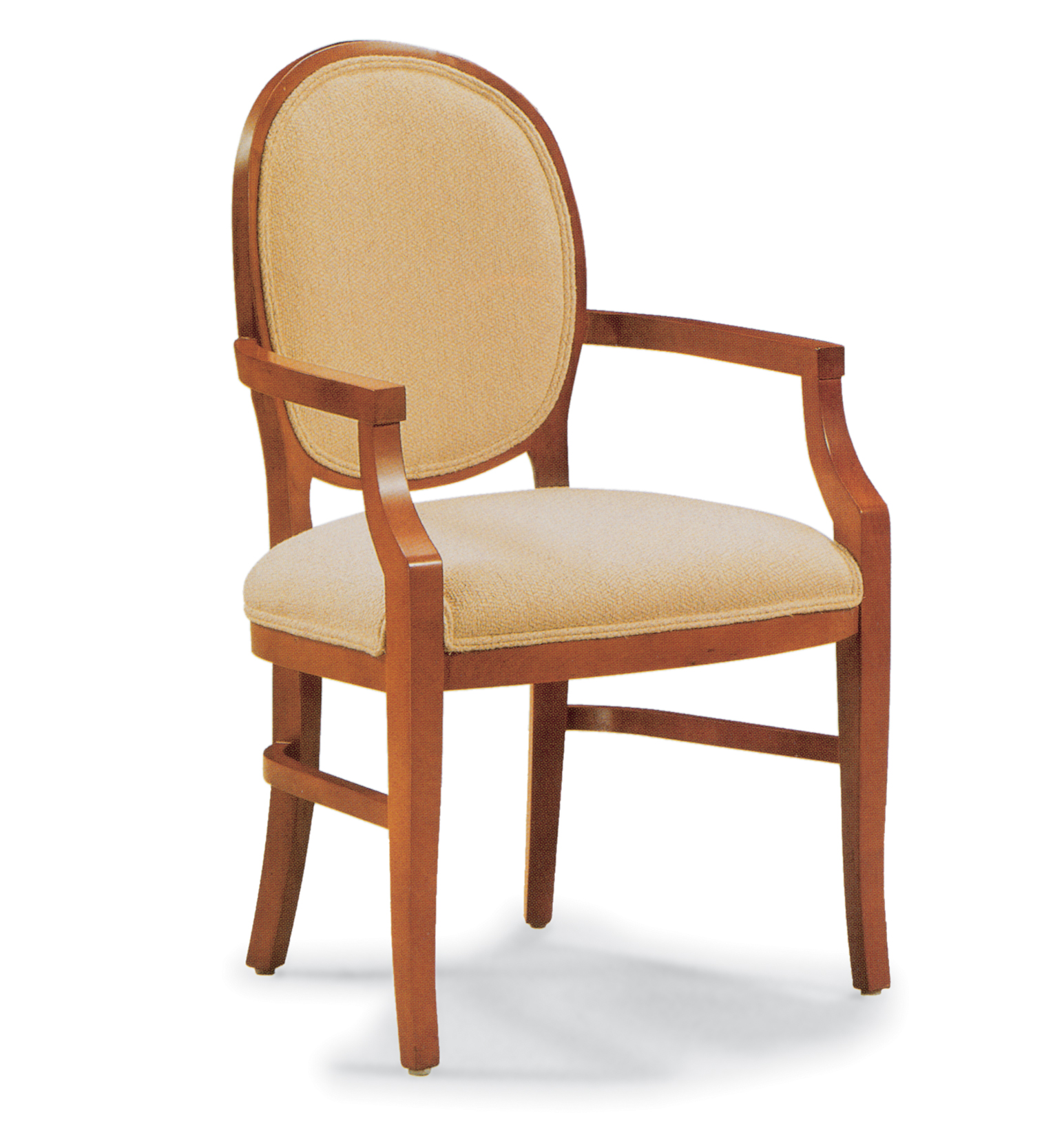 G wood arm chair