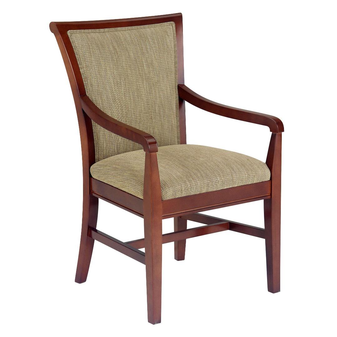 LG1067-1 Wood Arm Chair