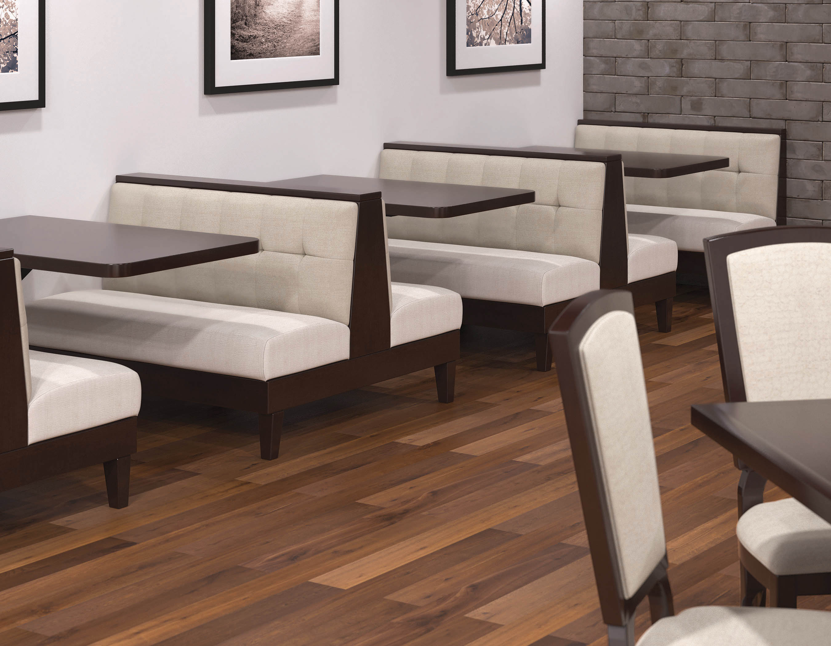 Restaurant Furniture Revit : M booths banquettes