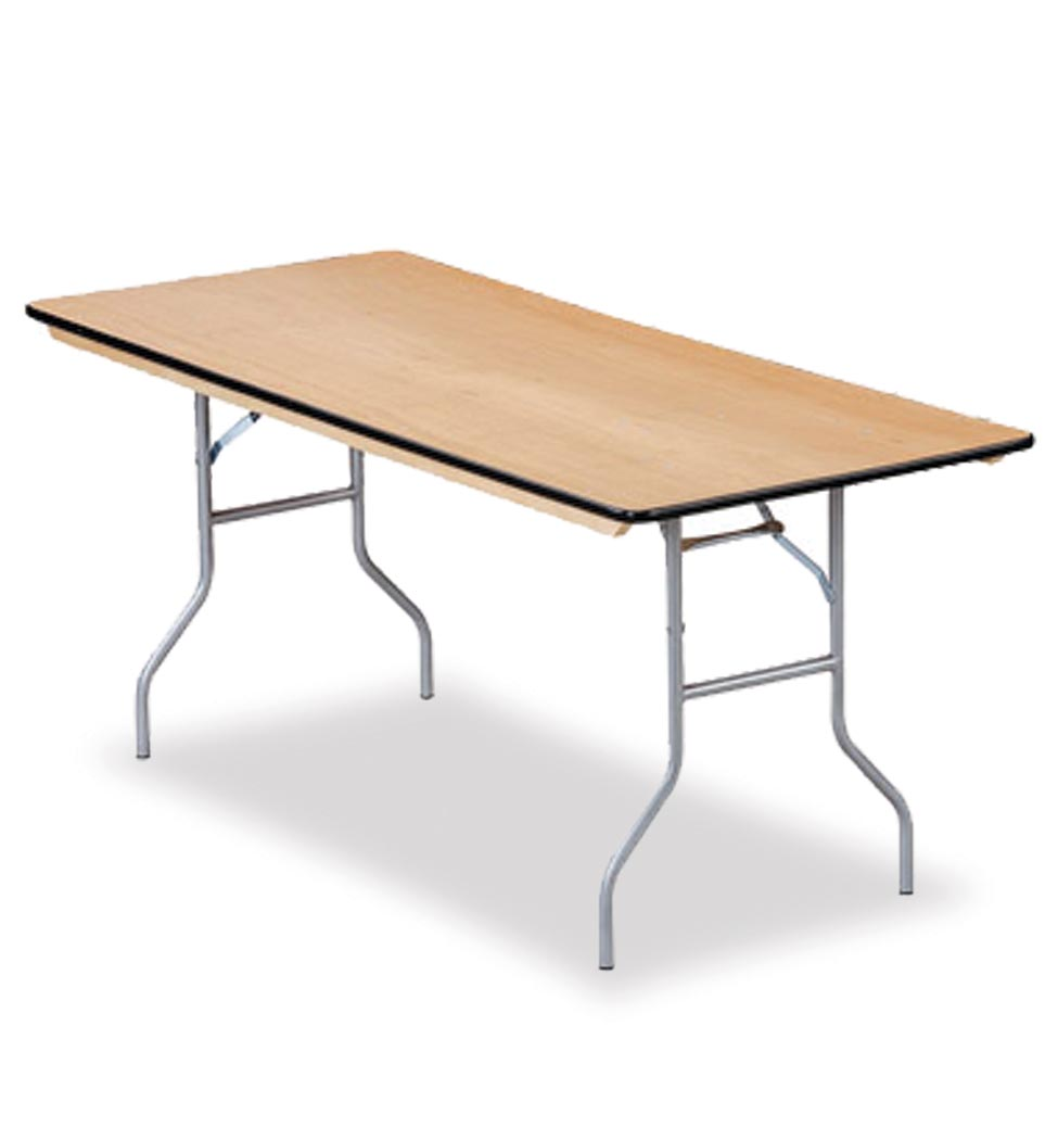 PLYWSHSLD Series Multi Purpose Plywood Folding Tables