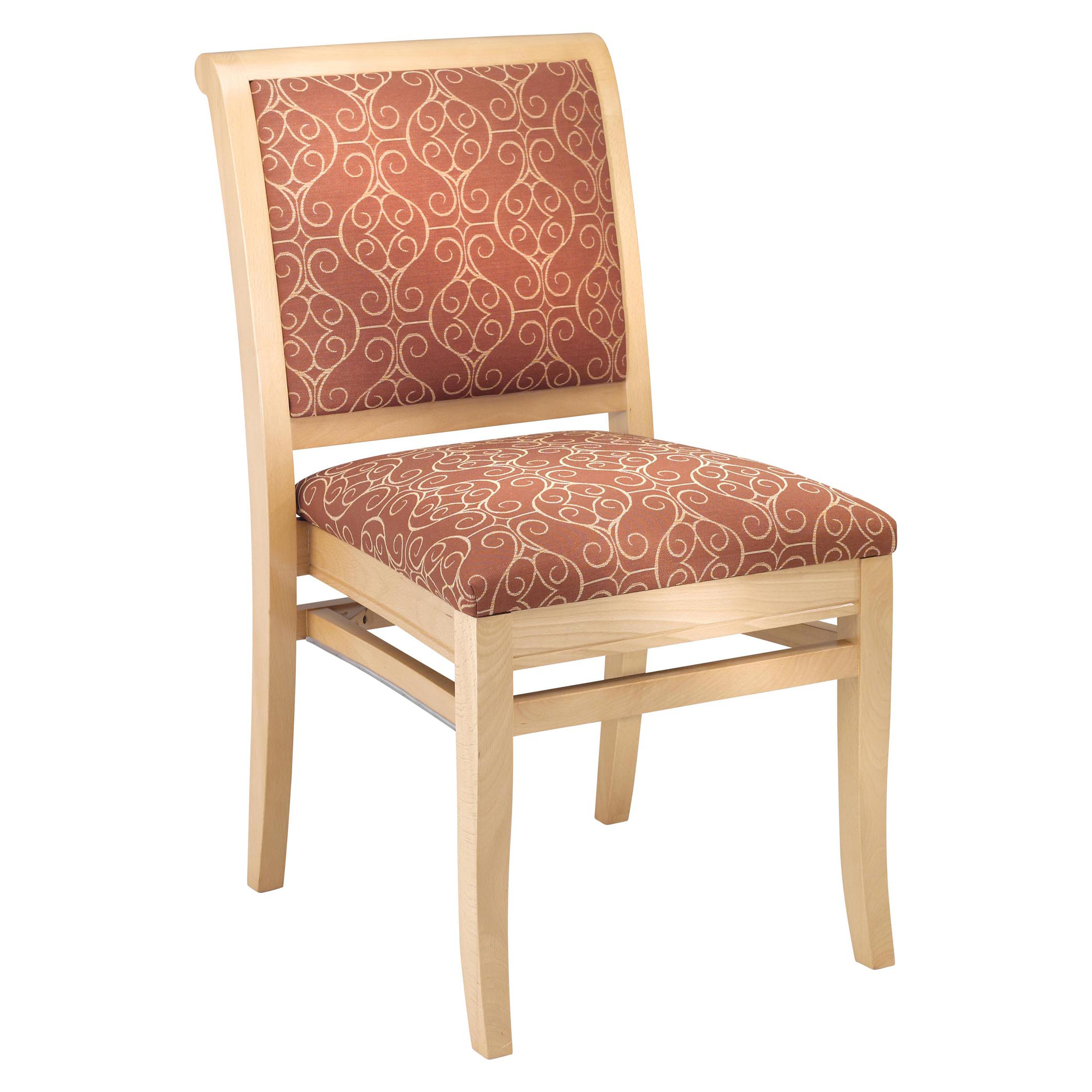 4011 Stacking Wood Side Chair