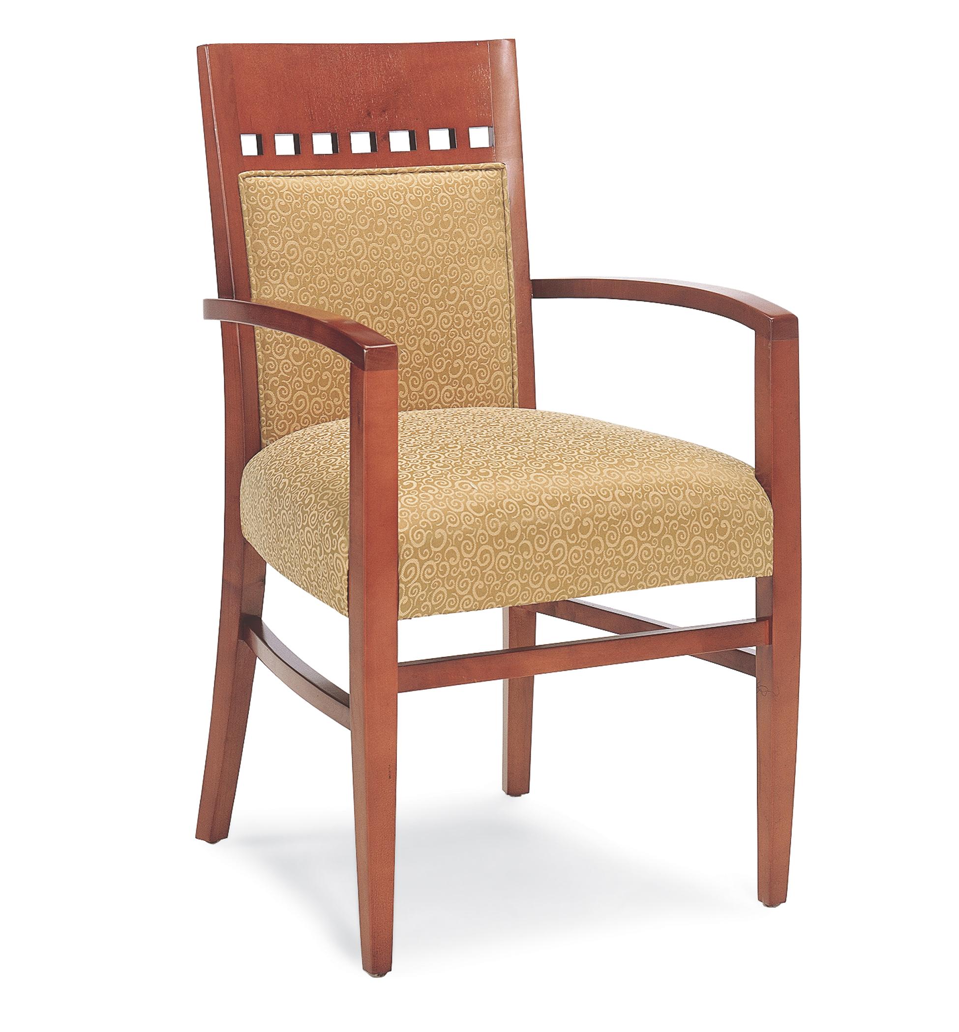 T 2985 Wood Arm Chair