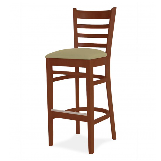 1136-2 Wood Barstool