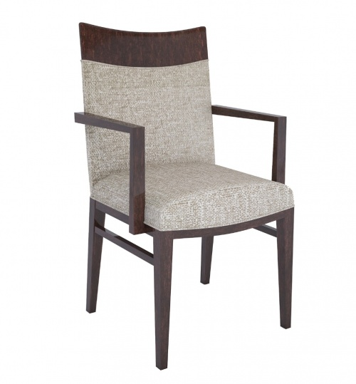 4124-1 Wood Arm Chair