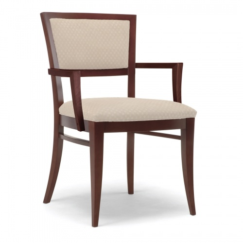Delicieux 4126 1 Wood Arm Chair