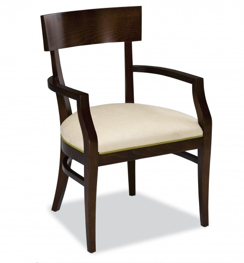 4127-1 Wood Arm Chair