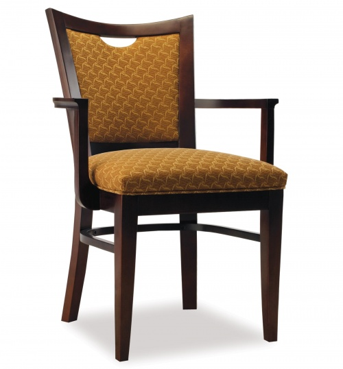 4363-1 Wood Arm Chair