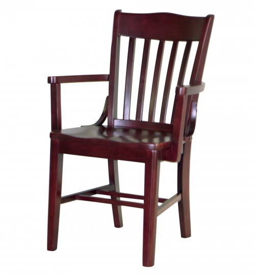7035-1 Wood Arm Chair