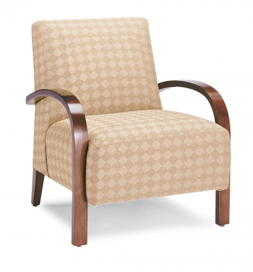 7240 Wood Arm Chair