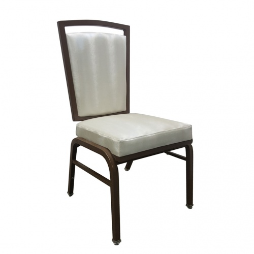 Aluminum Action Back Banquet Chair