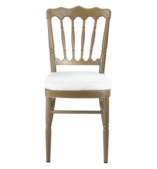 Chivari 8669 Aluminum Stacking Chair