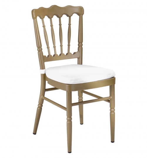 Chivari 8669 Aluminum Stacking Chair Alternative Image