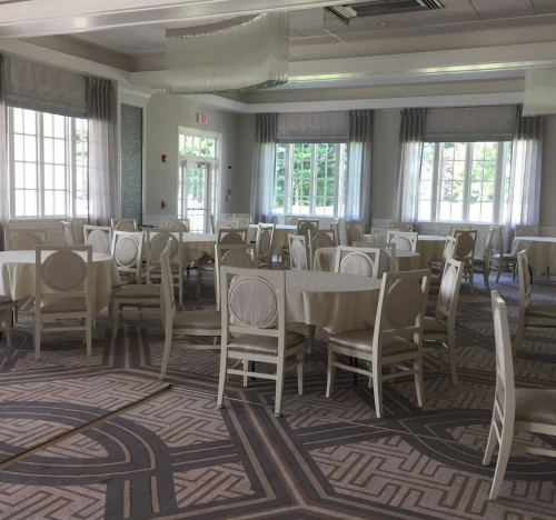 Pinebrook Country Club - custom wood seating