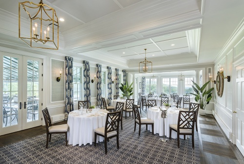 Somerset Hills Country Club, custom seating