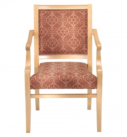 Stack 2780 Stacking Wood Arm Chair