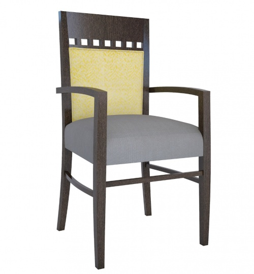 T2985 Wood Arm Chair