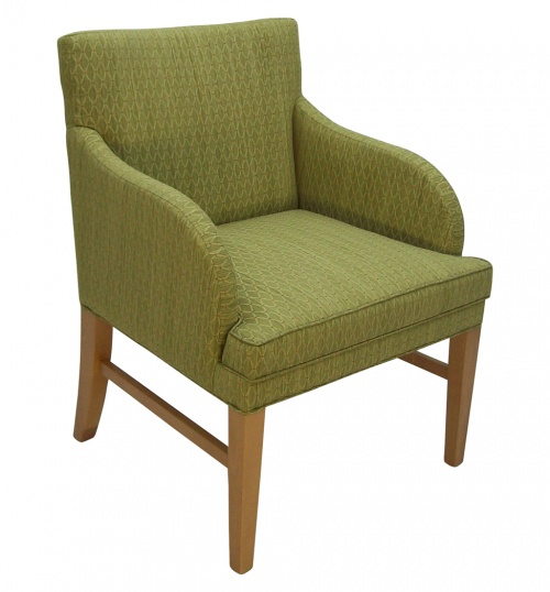 U653 Upholstered Lounge Chair Alternative Image