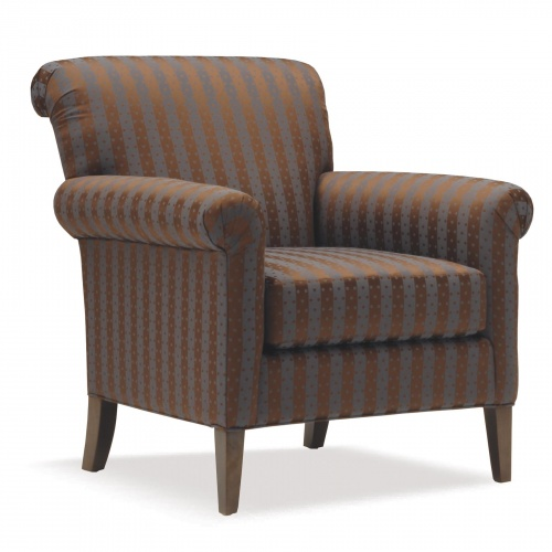 U655 Upholsterd Lounge Chair